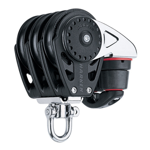 57 mm Triple Block — Swivel,Cam Cleat (No.2617) Harken