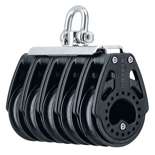 57 mm 5-sheave Block — Swivel (No.2762) Harken